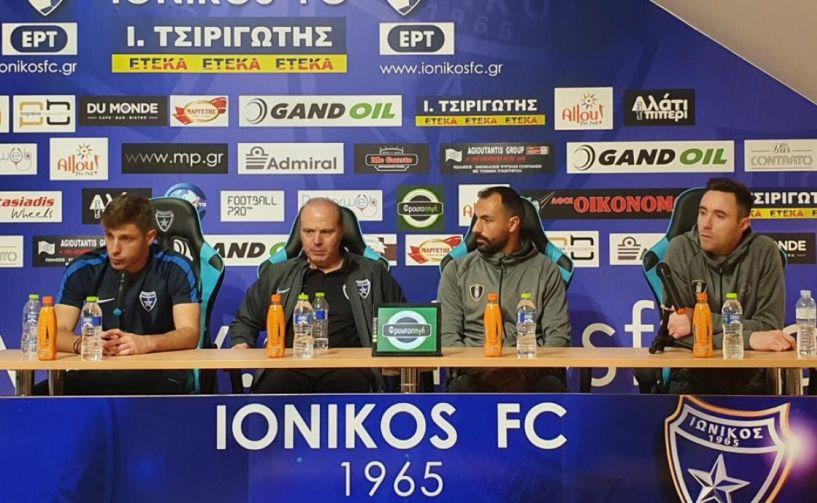 Γεωργιάδης: «Mπορούσαμε να φύγουμε νικητές» - Βεργώνης: «Η καλύτερή μας εμφάνιση»