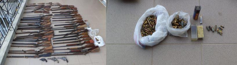 Συνελήφθη 59χρονος σε περιοχή της Ημαθίας για παράβαση νομοθεσίας περί όπλων (Στην κατοχή του βρέθηκαν, μεταξύ άλλων, 47 κυνηγετικά όπλα, 3 περίστροφα και 238 φυσίγγια) (Βίντεο)