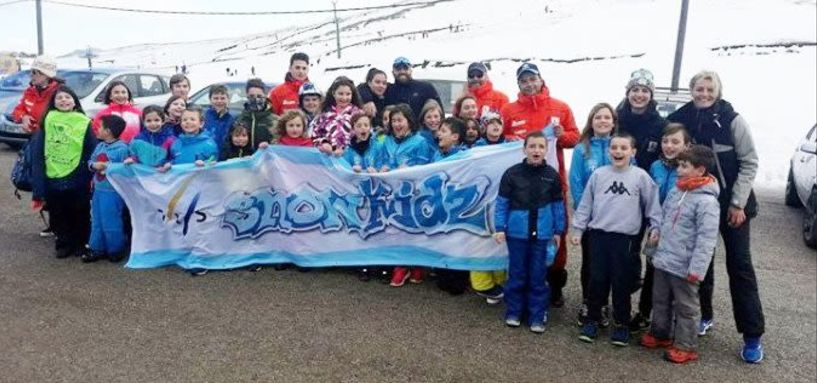 Ποδαρικό στα χιόνια έκανε ο ΣΧΟ Βέροιας στο Χιονοδρομικό Κέντρο Ανήλιου (Μέτσοβο)