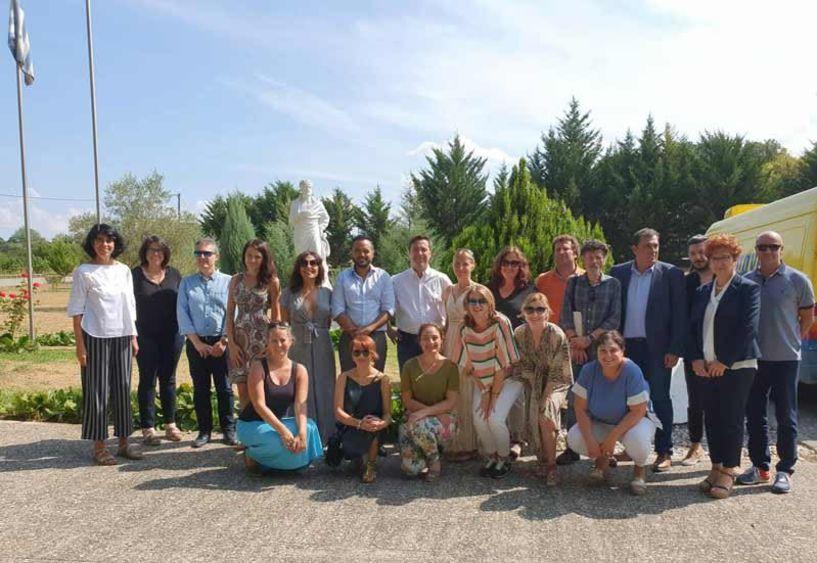 Επίσκεψη Ευρωπαίων δικαστών στη Σχολή Αριστοτέλους