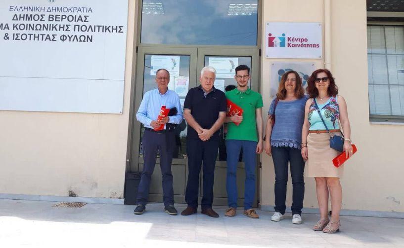 Επισκέψεις των υποψήφιων βουλευτών του «ΣΥΡΙΖΑ- ΠΡΟΟΔΕΥΤΙΚΗ ΣΥΜΜΑΧΙΑ»