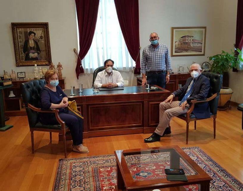 Η κλιματική αλλαγή στο επίκεντρο της συνάντησης του Δημάρχου Βέροιας με τον Πρόεδρο του ΕΛΓΑ
