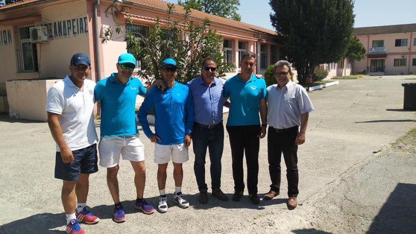 Μια μέρα γιορτής για το tennis στην Αλεξάνδρεια