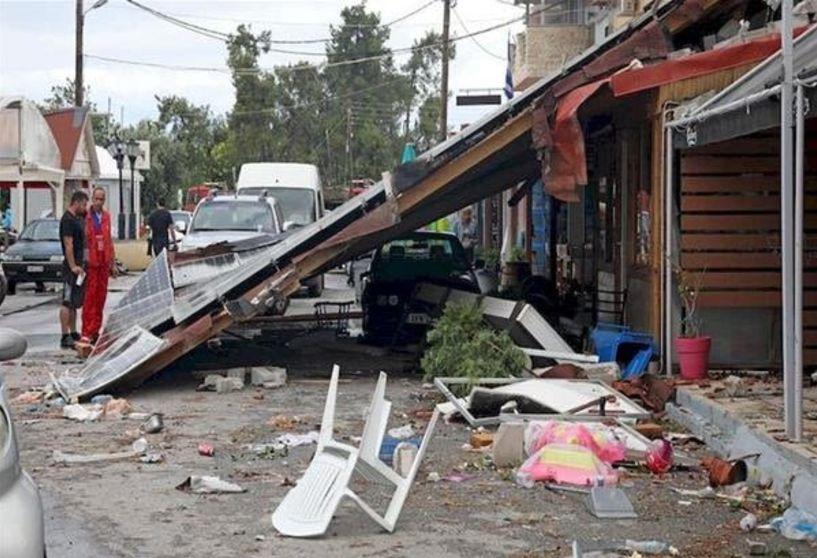 Ενημέρωση του Δήμου Βέροιας για ζημιές σε πληγέντα κτίρια πολιτών από τον ανεμοστρόβιλο της 10ης Ιουλίου 2019