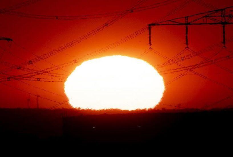 «Βράζει» η Δυτική Ευρώπη, σπάνε τα ρεκόρ υψηλών θερμοκρασιών