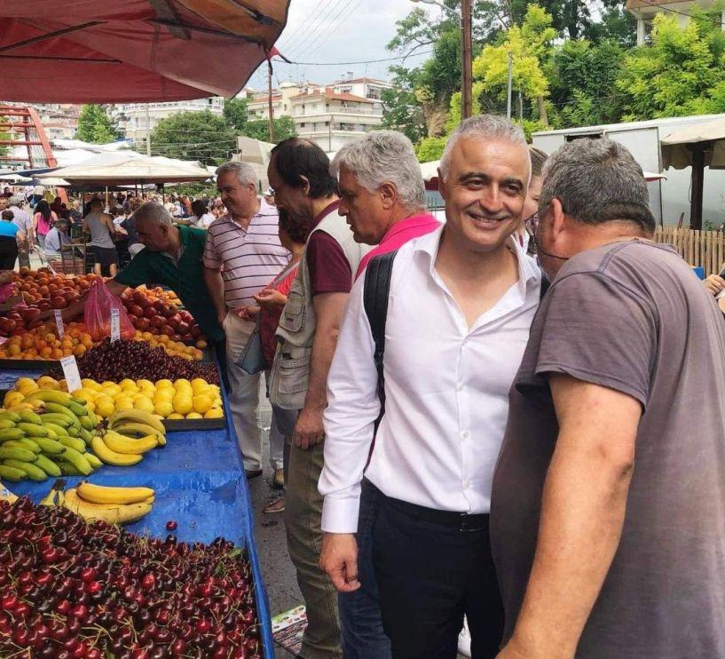 Στη Βουλή στέλνει τα αιτήματα και τις προτάσεις των παραγωγών Λαϊκών Αγορών ο Λάζαρος Τσαβδαρίδης