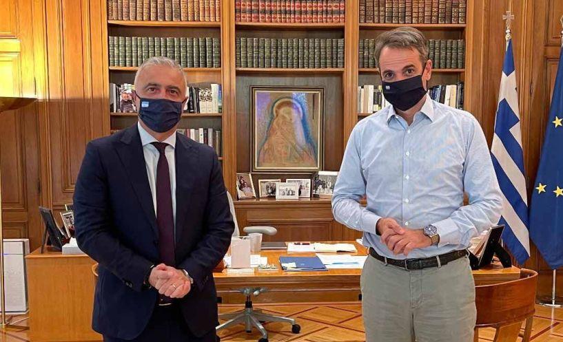 Με τον Πρωθυπουργό συναντήθηκε ο Λάζαρος Τσαβδαρίδης - Τα θέματα που συζήτησαν