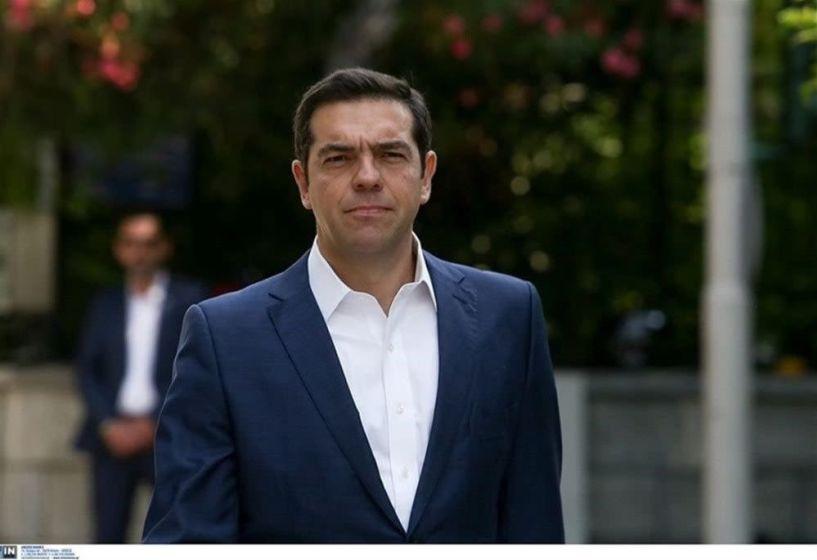 Στον Πρόεδρο της Δημοκρατίας ο Αλέξης Τσίπρας
