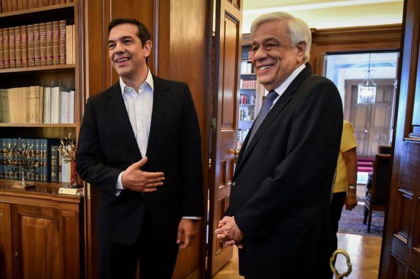 Από 10 μέχρι 13 Ιουνίου στον Παυλόπουλο ο Τσίπρας για την προκήρυξη εθνικών εκλογών