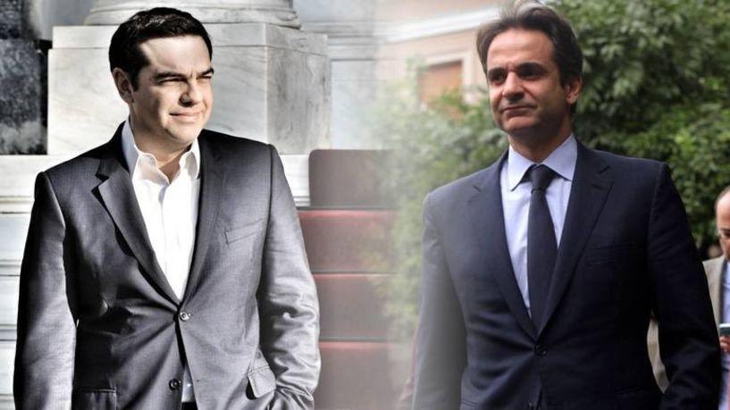 Δύο tweet με λίγες ώρες διαφορά από τον πρωθυπουργό  Αλέξη Τσίπρα το πρώτο  και από τον αρχηγό  της αντιπολίτευσης  Κ. Μητσοτάκη το δεύτερο