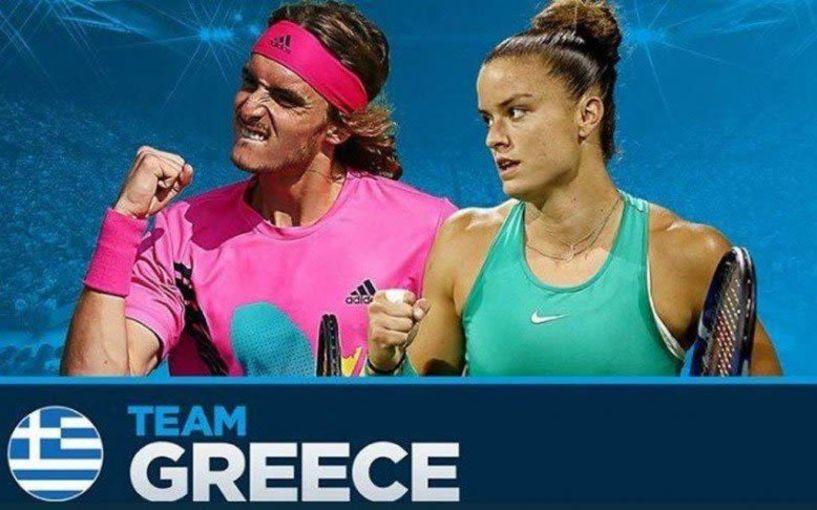 Με τη σφραγίδα της Διεθνούς Ομοσπονδίας-ITF, η πρόκριση του Στέφανου Τσιτσιπά και της Μαρίας Σάκκαρη στο Τόκιο
