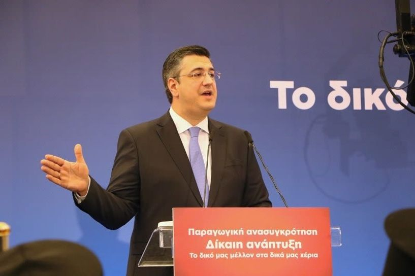 Επιτάχυνση των αναπτυξιακών παρεμβάσεων και των σημαντικών έργων της Κ. Μακεδονίας ζήτησε από την Κυβέρνηση ο Απ. Τζιτζικώστας