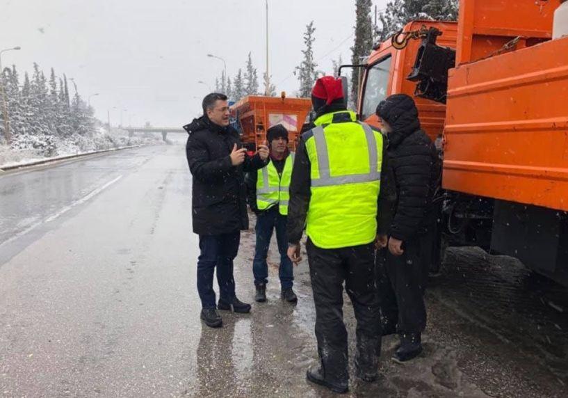 Τζιτζικώστας: Προσπαθούμε να κρατήσουμε όλο το οδικό δίκτυο ανοιχτό