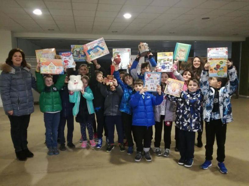 Συγκινητική δράση συλλογής και επανάχρησης βιβλίων και παιχνιδιών στη Νάουσα