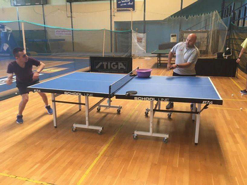 Στο Αργοστόλι ο Αλέξανδρος Καραϊωσήφ, για την προετοιμασία της Εθνικής Ομάδας Επιτραπέζιας Αντισφαίρισης ΑμεΑ