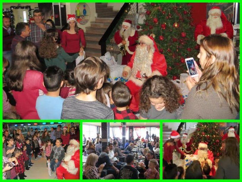 Χριστουγεννιάτικη εκδήλωση του Σωματείου Εργαζομένων της ΑΛ.Μ.ΜΕ. για τα παιδιά των εργαζομένων της