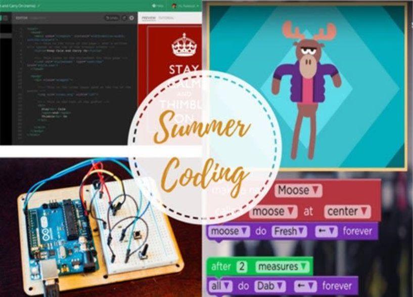 Summer Coding : Εργαστήρια Προγραμματισμού στο Veria Tech Lab - Το πρόγραμμα των εργαστηρίων