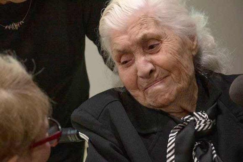 Τιμήθηκε από το Ισραήλ η 92χρονη Μελπομένη Ντίνα για τη διάσωση Εβραίων στη Βέροια