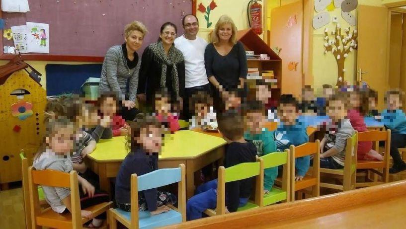 Βασιλόπιτα στον παιδικό σταθμό Αγγελοχωρίου