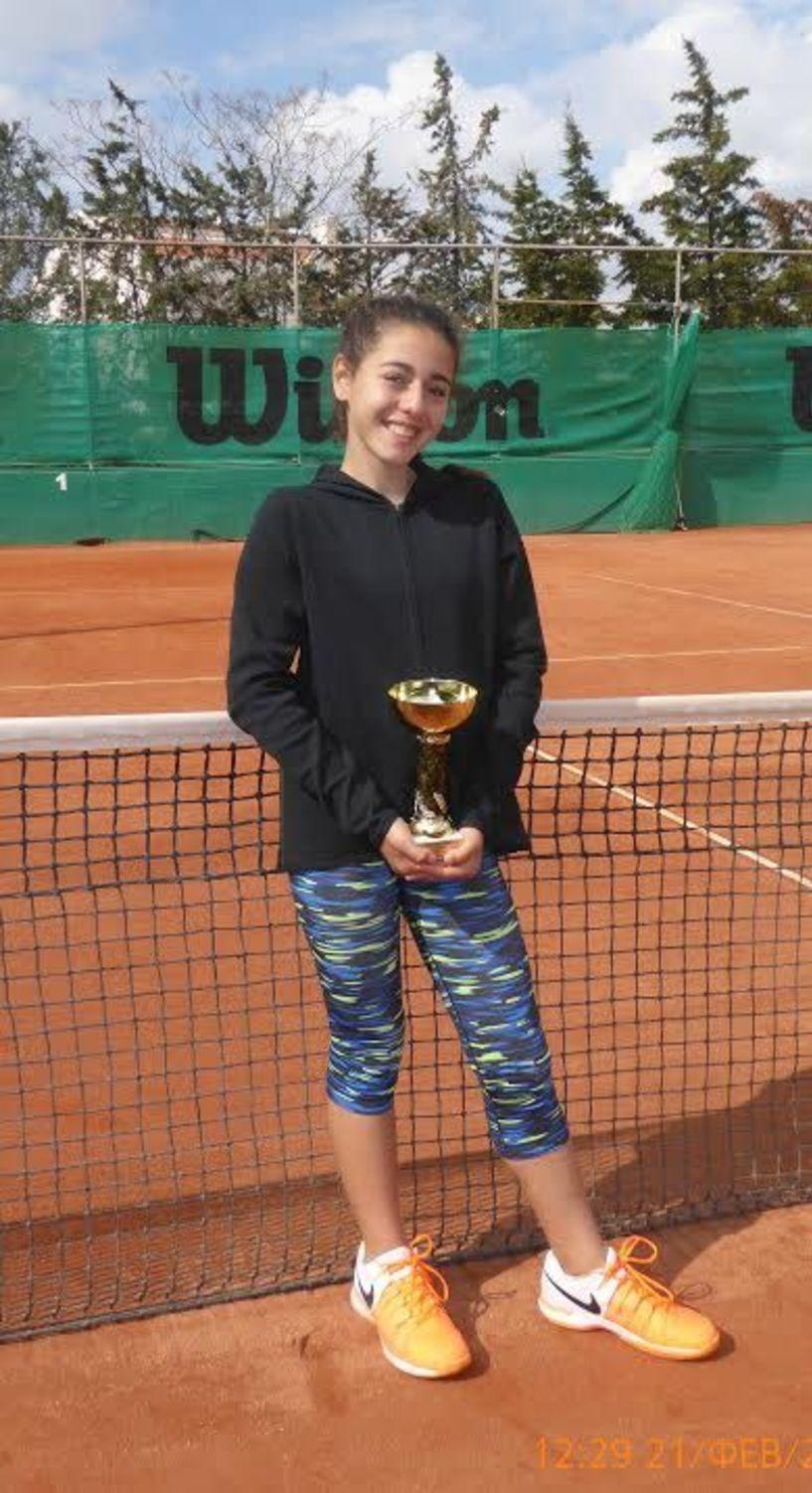 Μεγάλη επιτυχία για την Ελένη Λαζαρίδου. Δεύτερη θέση στο πανελλήνιο πρωτάθλημα πρώτου επιπέδου