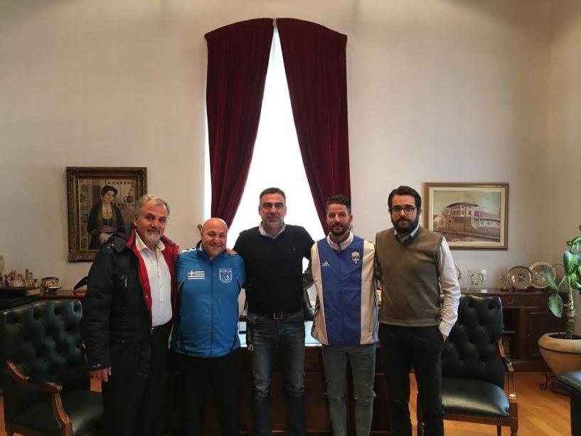 Συνάντηση αντιδημάρχων Βέροιας με τον Κωνσταντίνο Πετράκη