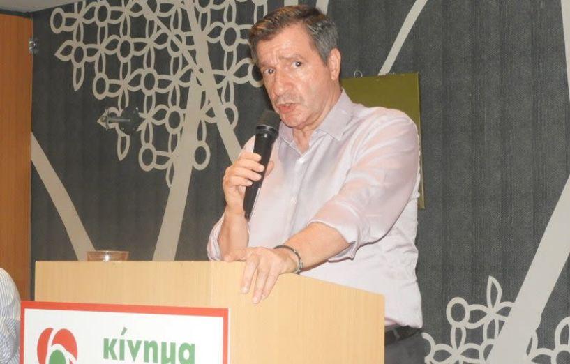Στη Βέροια χθες ο Δήμαρχος Αθηναίων Γ. Καμίνης λίγο πριν τις εσωκομματικές   διαδικασίες του ΚΙΝ. ΑΛ. στην Ημαθία