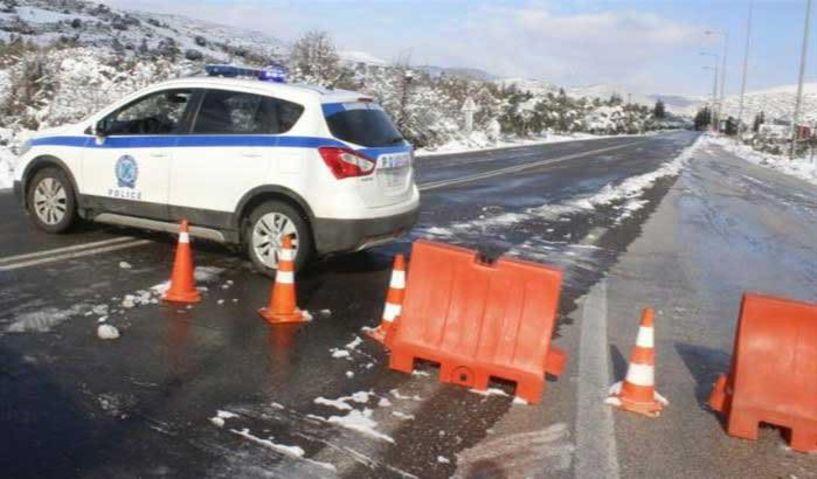 Απαγόρευση κυκλοφορίας για ακόμα μια εβδομάδα προς το Χιονοδρομικό 3-5 Πηγάδια