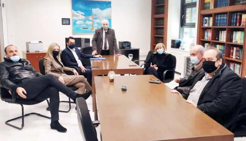 Σειρά επαφών του Δικηγορικού Συλλόγου Βέροιας με τους ημαθιώτες βουλευτές - Την Παρασκευή συναντήθηκαν με τον Τάσο Μπαρτζώκα