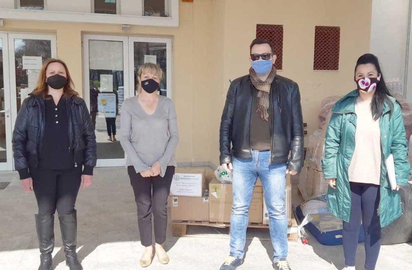 Είδη πρώτης ανάγκης από το ΚΑΠΑ Δήμου Βέροιας στους σεισμόπληκτους του Δήμου Ελασσόνας