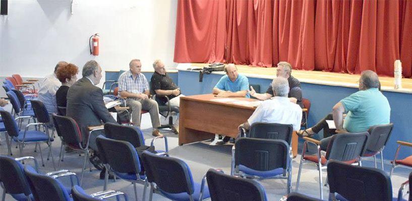 Συνεδρίασε ο Οργανωτική Επιτροπή ενόψει του    συλλαλητηρίου   στην πλατεία της Βεργίνας για τη Μακεδονία
