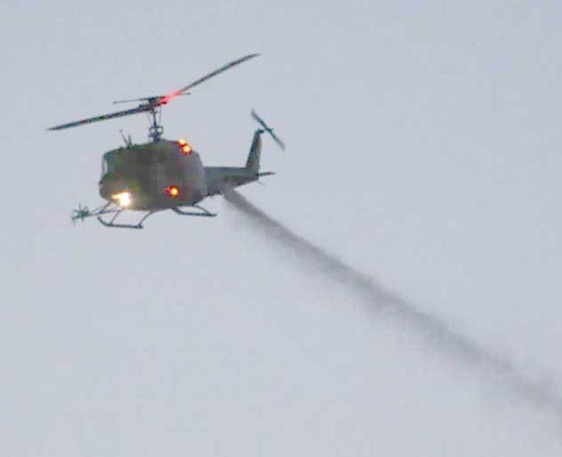Αεροψεκασμοί για τα κουνούπια σε Ορυζώνες και υγροτοπικά συστήματα