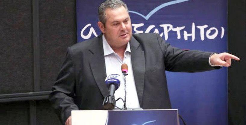 Πάνος Καμμένος: Με δημοψήφισμα ή εκλογές θα κριθεί η συμφωνία για τα Σκόπια