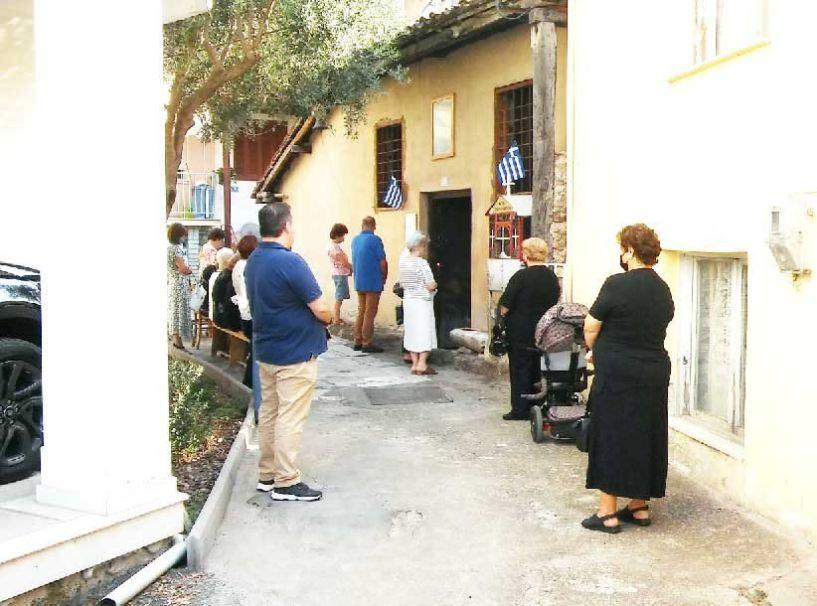 Η εκκλησία της Αγίας Παρασκευής στη Μακαριώτισσα Βέροιας