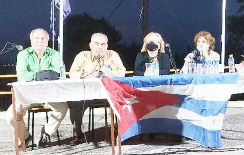 Έντονη η παρουσία και οι επαφές της πρέσβειρας της Κούβας στη Βέροια