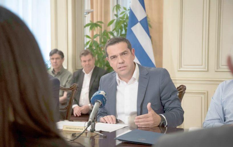 Αλέξης Τσίπρας: « Αναλαμβάνω ακέραια την πολιτική ευθύνη για την τραγωδία από τις πυρκαγιές»
