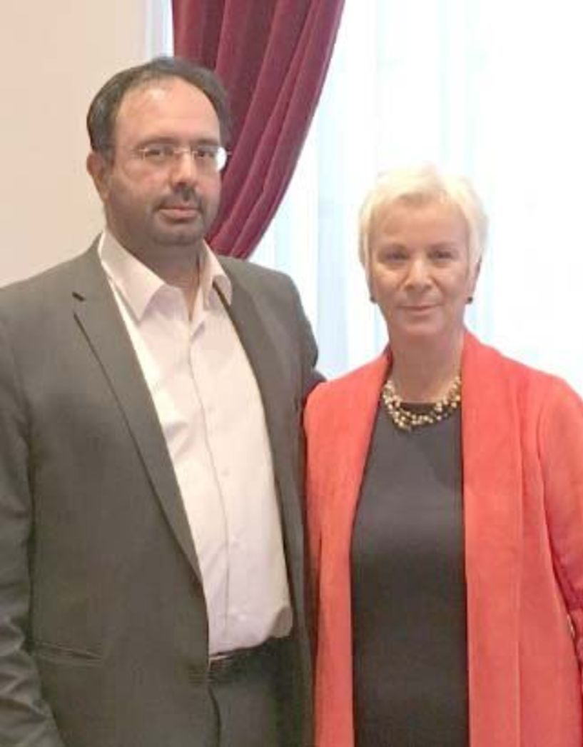 Μετά την παραίτηση Χατζηαθανασίου  Ορκίστηκε χθες,   νέα δημοτική   σύμβουλος Βέροιας   η Θωμαή Στιόκα