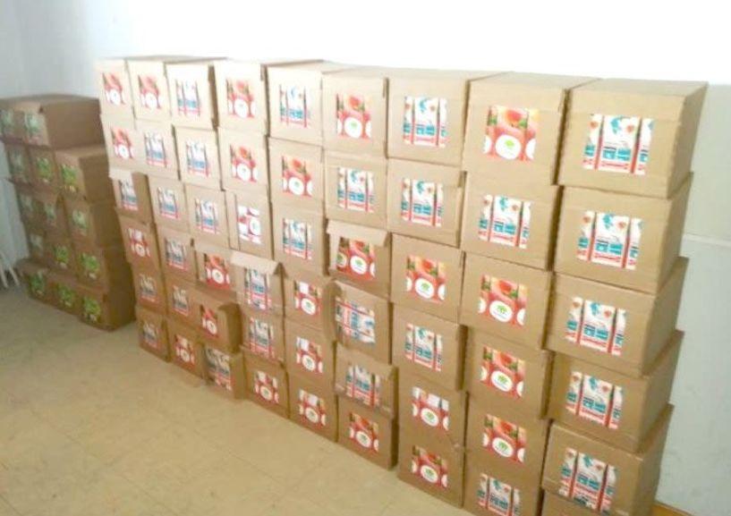 Διανομή χυμών στους ωφελούμενους  του ΚΕΑ-ΤΕΒΑ σε Βέροια, Νάουσα και Αλεξάνδρεια