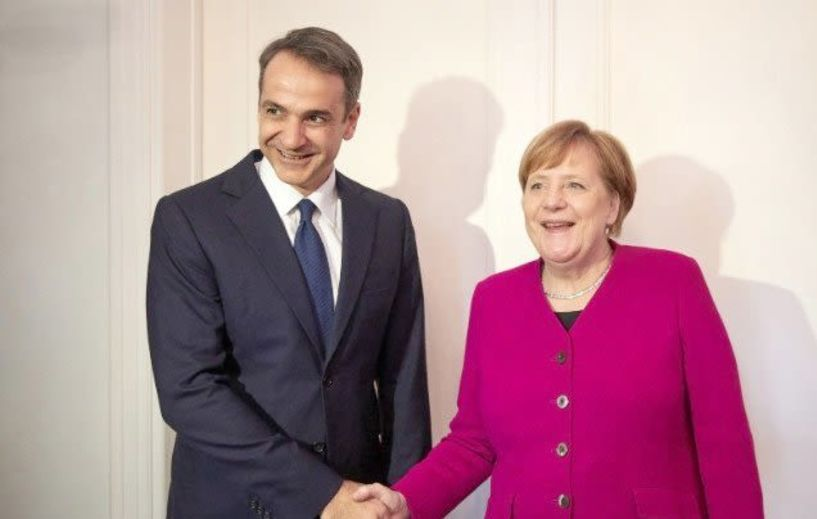Δήλωση του Κ. Μητσοτάκη  για τη συνάντηση του με τη Γερμανίδα Καγκελάριο Άγγελα Μέρκελ