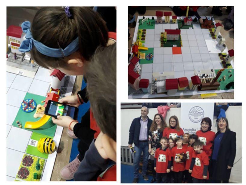 Το 12ο νηπιαγωγείο Βέροιας συμμετείχε στο Πανελλήνιο Διαγωνισμό Εκπαιδευτικής Ρομποτικής του WRO Hellas