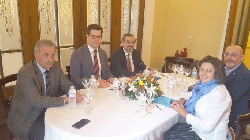 Συναντήσεις του Υφυπουργού   Άγγελου Τόλκα με τον Υπουργό   Προσφύγων και Επαναπατρισμού   του Αφγανιστάν και   αξιωματούχους της UNICEF