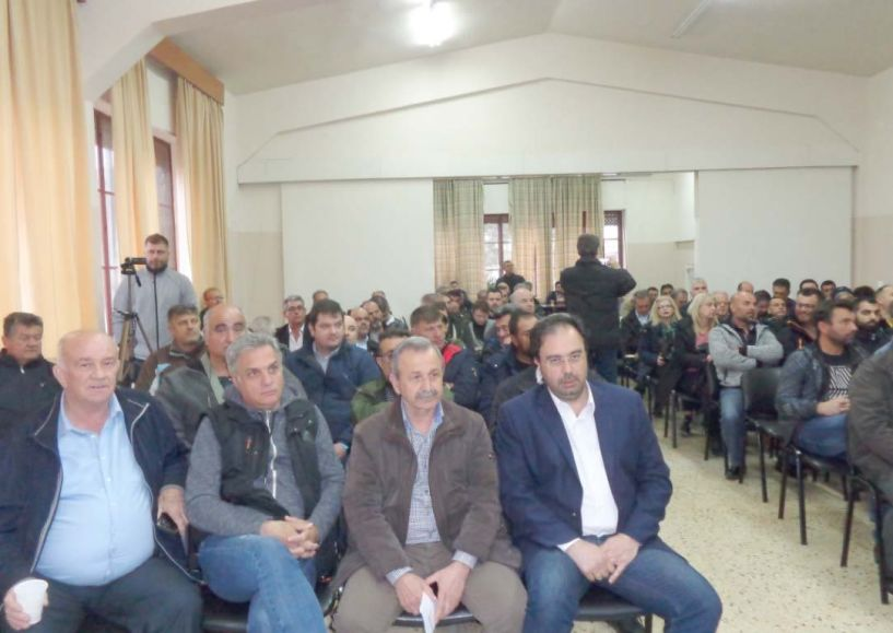 Ευχαριστίες του αντιδημάρχου Βέροιας Θανάση Σιδηρόπουλου για τη  διοργάνωση ενημερωτικής εκδήλωσης