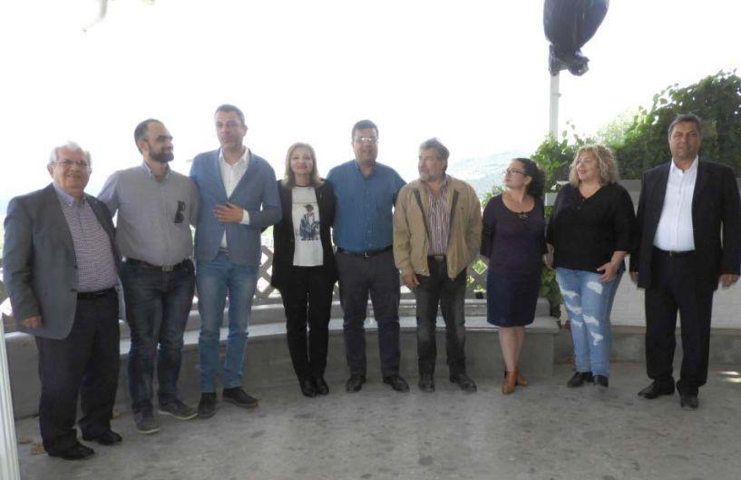 Το ψηφοδέλτιο του ΚΙΝ.ΑΛ. στην Ημαθία παρουσίασε χθες ο υποψήφιος Περιφερειάρχης Χρήστος Παπαστεργίου