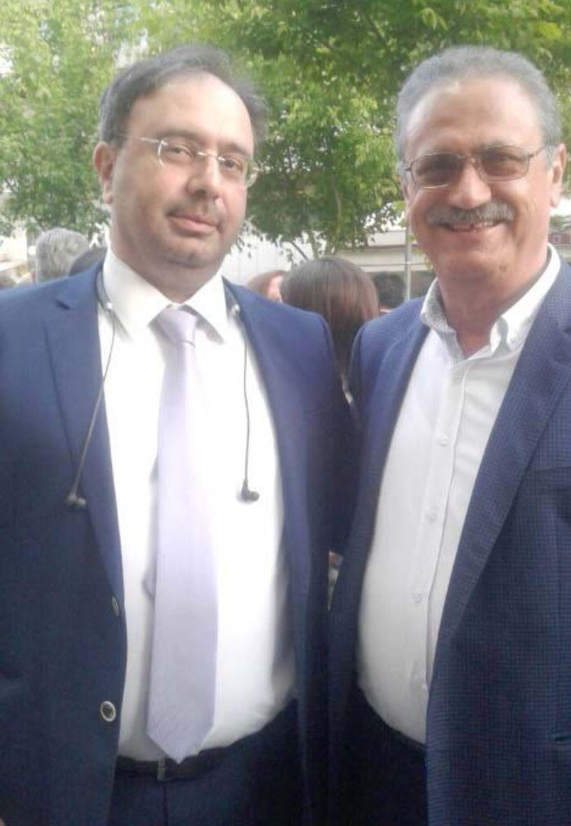 Ανδρέας Σταυρόπουλος - Υπ. δημοτικός   σύμβουλος με τον   συνδυασμό   «Δράση με γνώση»   του Κ. Βοργιαζίδη