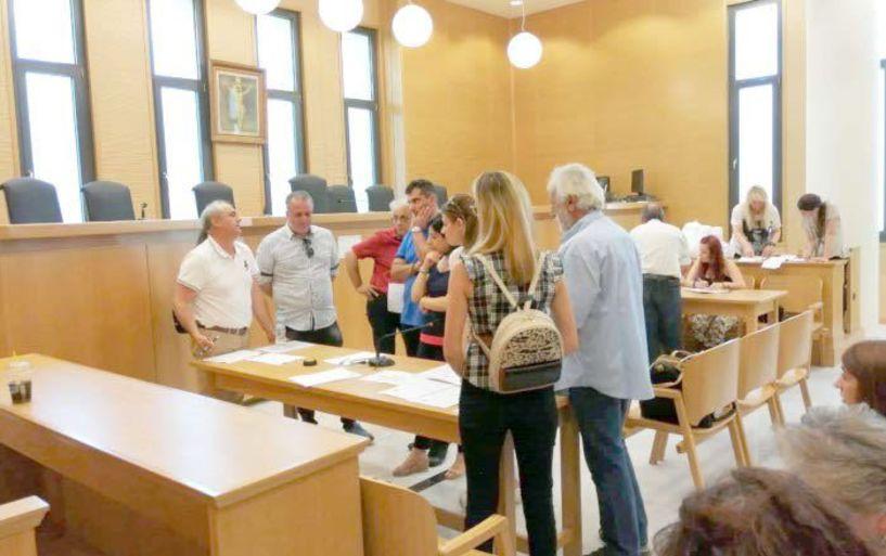 Επανακαταμέτρηση ψήφων χθες στο Πρωτοδικείο Βέροιας μετά από αιτήσεις υποψηφίων - Ποιοι έκαναν τις ανατροπές και ποιοι σκέφτονται το εκλογοδικείο
