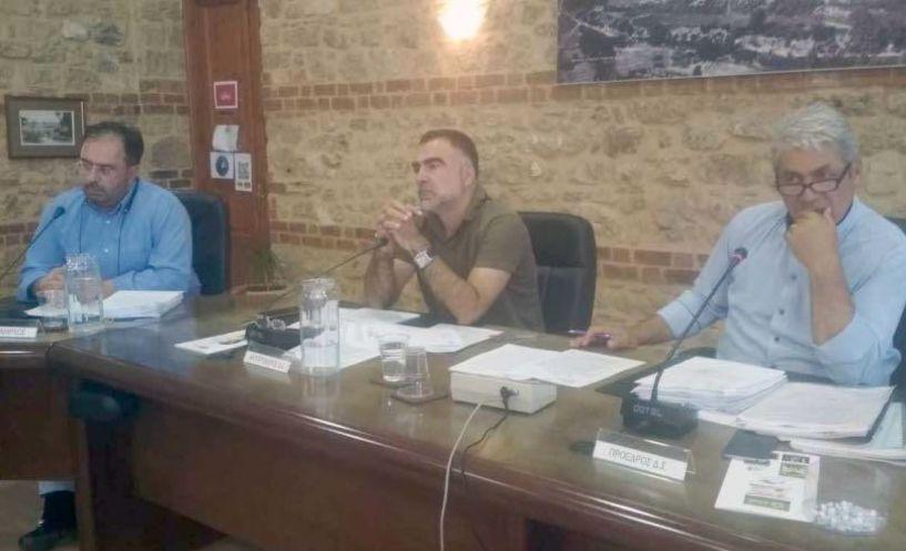 Πρώτη μετεκλογική   συνεδρίαση του Δημοτικού Συμβουλίου Βέροιας