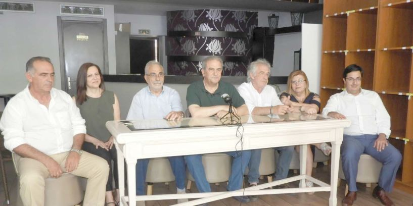 Με βαρείς χαρακτηρισμούς για  Τόλκα και Θεοχαρόπουλο η παρουσίαση των υποψηφίων του ΚΙΝΑΛ