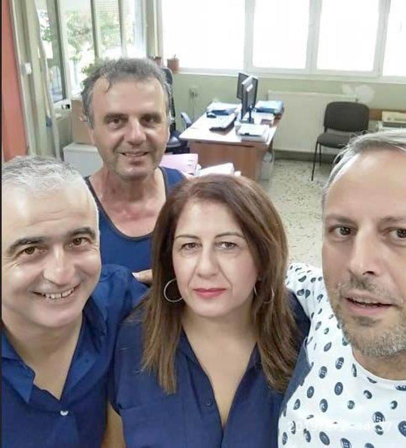 Επίσκεψη στο Νοσοκομείο Νάουσας και ενημέρωση   για τα προβλήματα και   τις ανάγκες της Μονάδας