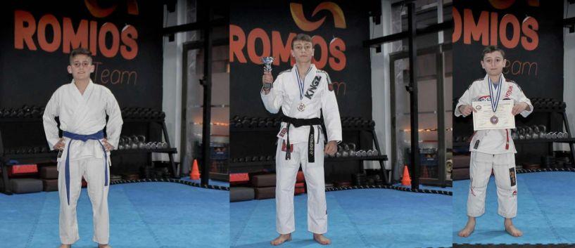 Νέα χρονιά... νέες διακρίσεις... και σπουδαίες επιτυχίες για τον ΑΣ ΡΩΜΙΟ στο Πανελλήνιο Πρωτάθλημα Ζιου - Ζίτσου στην Αθήνα