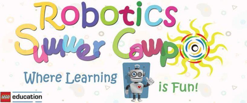 Και   αυτό   το   καλοκαίρι.. έχει   Camp   Ρομποτικής!