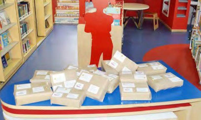 Τα πρώτα 59 πακέτα βιβλίων που δανείστηκαν οι αναγνώστες,  έχουν ήδη αποσταλεί δωρεάν
